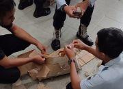 Petugas Rutan Ponorogo Gagalkan Penyelundupan Sabu Diselipkan di Kulit Kardus