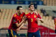 Gasak Kosovo, Spanyol Geser Swedia di Grup B