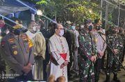 Sambangi Gereja Katedral, Panglima TNI: 5.590 Anggota TNI-Polri Amankan Objek Vital