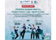 Hari Ini, Pendaftaran UTBK-SBMPTN 2021 Ditutup Tepat Pukul 15.00 WIB