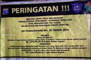 Pasang Spanduk Ancaman, PTPN IV Dinilai Intimidasi Warga Marihat Bandar