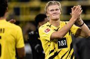 Ayah Haaland dan Raiola Kunjungi Barcelona, Begini Reaksi Borussia Dortmund
