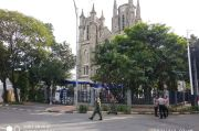 Jumat Agung, Polisi dan TNI Amankan Gereja Katedral Jakarta