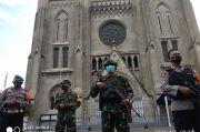 Gelar Jumat Agung, 150 Personel Gabungan Amankan Gereja Katedral Jakarta