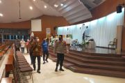 520 Personel Polrestro Jakarta Utara Jaga 94 Gereja saat Ibadah Jumat Agung