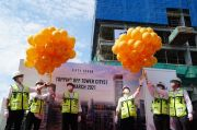 Intiland Gelar Topping Off Apartemen Fifty Seven Promenade