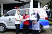 Peran Aktif Peruri Melawan Pandemi, 1 Unit Ambulans Diserahkan ke Puskesmas Telukjambe