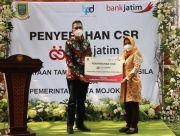Bank Jatim Bantu Penataan Taman Benteng Pancasila Kota Mojokerto