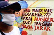 Kasus Covid-19 Bertambah 4.345, Terbanyak dari DKI Jakarta