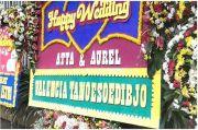 Karangan Bunga dari Jokowi hingga Valencia Tanoesoedibjo Hiasi Hotel Pernikahan Atta Aurel