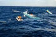 Tabrak Kapal Kargo di Laut Indramayu, MV Barokah Jaya Beserta 32 ABK Terbalik