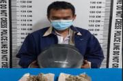 Simpan 2 Paket Ganja di Helm, Seorang Pria Ditangkap Polisi