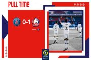 Lewat Drama Dua Kartu Merah, Lille Senggol PSG dari Puncak Klasemen Ligue 1