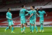 Liverpool Obrak-abrik Gawang Arsenal 3 Gol Tanpa Balas