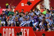Juara Copa del Rey Usai Bungkam Bilbao, Sociedad Akhiri Penantian 34 Tahun