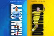 Preview Manchester City vs Borussia Dortmund: Perang Bintang Muda