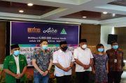 Gus Yaqut dan Gubernur Olly Apresiasi Distribusi 5 Juta Masker Medis GP Ansor, KSP dan Aice Group
