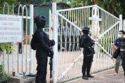 Polwan Brimob Polda Sulsel Diterjunkan Jaga Gereja di Makassar