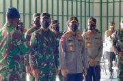 Panglima TNI Letakan Batu Pertama Pembangunan Mako Guspurla Koarmada I di Natuna