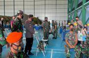 Panglima TNI Tinjau Serbuan Vaksin Covid-19 untuk Prajurit TNI-Polri di Natuna