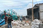Pendapatan Anjlok, Nelayan Muara ANgke Keluhkan Proyek Pembangunan Gudang