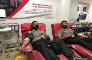 Bantu Ketersediaan Darah di PMI, Serdik Sespimen Dikreg ke 61 Gelar Donor Darah