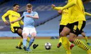 Babak I: Kevin De Bruyne Bawa Man City Unggul atas Dortmund
