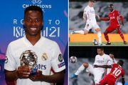 Real Madrid Lumat Liverpool, Ini Rapor 5 Pemain Tampil Baik dan Buruk