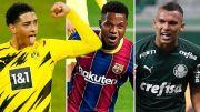 11 Wonderkid Terbaik Sepak Bola termasuk Next Neymar