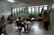 Uji Coba Belajar Tatap Muka, Semua Guru SDN 01 Sukapura Sudah Divaksin