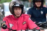 Gawat, Helm Retro yang Dipakai Jokowi dan Ridwan Kamil Banyak Dipalsukan