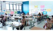 Perketat Prokes, SDN 3 Palmerah Jakbar Gelar Simulasi Pembelajaran Tatap Muka