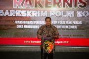 Kurva Sudah V-Shape, Menko Airlangga: Pemulihan Ekonomi Butuh Dukungan Jajaran Polri