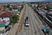 Rel Kereta Cepat Jakarta-Bandung Berangkat ke Depo Tegalluar, Lanjut Tahap Pengelasan