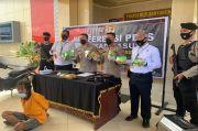 Selundupkan 10 Kg Sabu dari Riau Pakai Motor, Bandar Narkoba Dibekuk di Muba