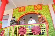 Airlangga Hartarto Resmikan Masjid Tine Tang di Area Tol Sentul Bogor