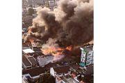 Kerugian Kebakaran Pasar Kambing Tanah Abang Capai Rp1 Miliar
