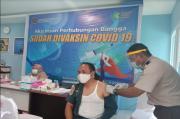 Ratusan Pegawai KSOP Ternate Jalani Vaksinasi Tahap Pertama