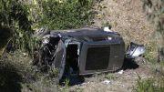 Penyebab Kecelakaan, Tiger Woods Ngebut 140 KPJ di Jalan Menurun