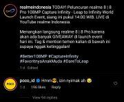 Admin POCO Komentar di Instagram realme Indonesia, Netizen: Mimin Barbar!