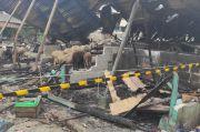 Ini Alasan Lokasi Kebakaran di Pasar Kambing Tanah Abang Digaris Polisi