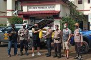 Jelang Ramadhan, Komunitas Moge di Tangsel Beri Paket Sembako ke Polisi