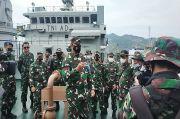 Tiga Jembatan Acrow Panel dan 57 Personel TNI Tiba di Bima