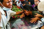 Puluhan Anak Tewas, Junta Myanmar Salahkan Demonstran