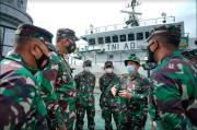 Satgas Gulbencal Danrem 162/WB Sambut Tim Satgas Zeni TNI AD Bangun Tiga Jembatan