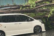Saksi Mata: Hitungan Detik Mobil Putih Milik Eros Djarot Langsung Ditimpa Pohon