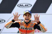 Begini Pesan Candaan Quartararo ke Marc Marquez Jelang MotoGP Portugal