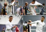 Mandul Lawan Genoa, Cristiano Ronaldo Lempar Jersey Juventus