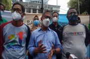 KSPI Demo Minta MK Batalkan UU Cipta Kerja