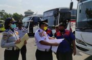 Kepala Terminal Tanjung Priok Sosialisasi Larangan Mudik ke Pengusaha PO Bus